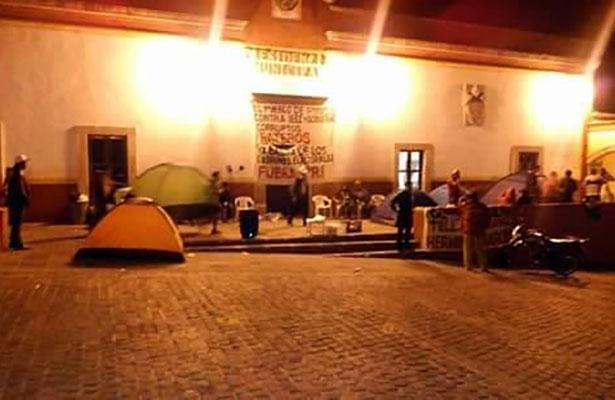 Alcaldía de Pinos, paralizada por Morena