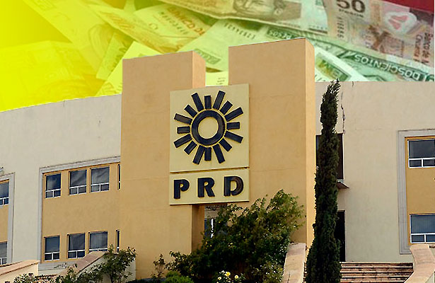 PRD, en bancarrota
