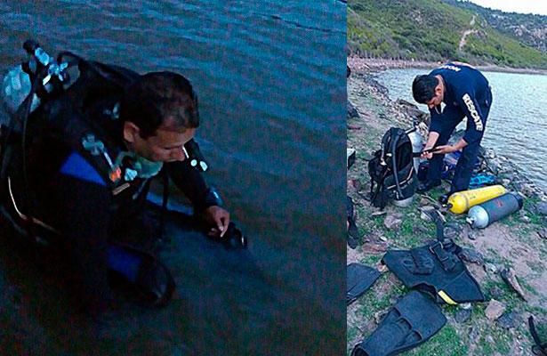 Rescatan cuerpo de ahogado en una presa