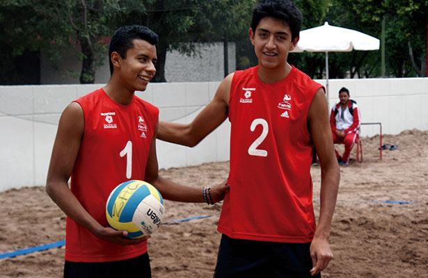 Doble victoria en voleibol de playa