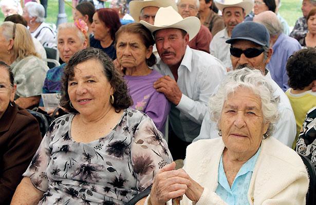 Se hace vieja la población zacatecana