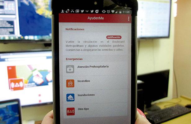 AyúdenMe, app para reportar emergencias