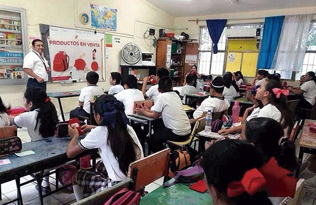 Se quejan de las escuelas ante la CDHEZAC