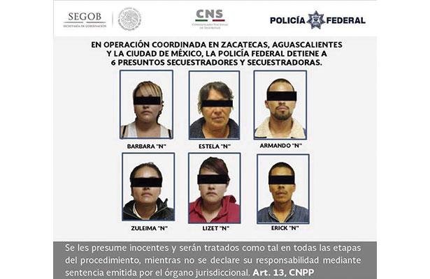 Vinculan a proceso penal a presuntos secuestradores