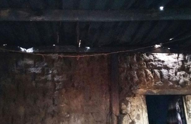 Lluvias afectan viviendas en Vetagrande