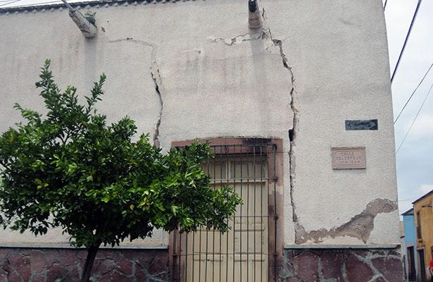 Amenaza finca con derrumbarse en Jerez