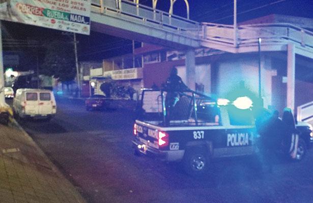 Comandante policíaco involucrado en lamentable accidente
