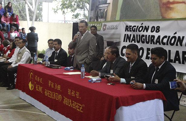 Inauguran en Jerez el nuevo ciclo escolar