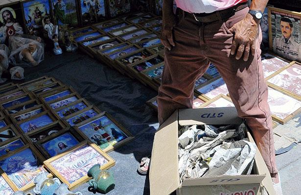 Bajan drásticamente ventas a tianguistas
