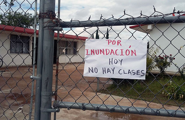 Hay rezago en infraestructura educativa