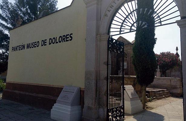 Buscan mejorar el Panteón Museo de Dolores