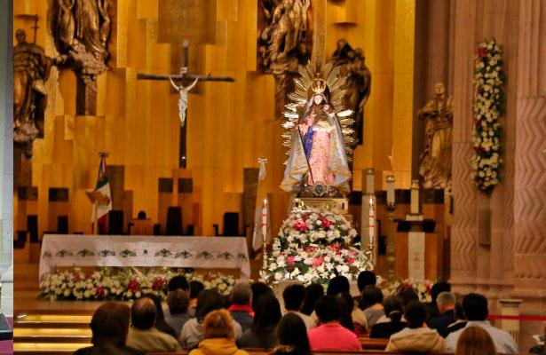 Zacatecas inicia novenario a su Patrona