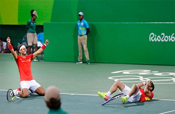 Rafa Nadal y López lucharán por el oro en dobles