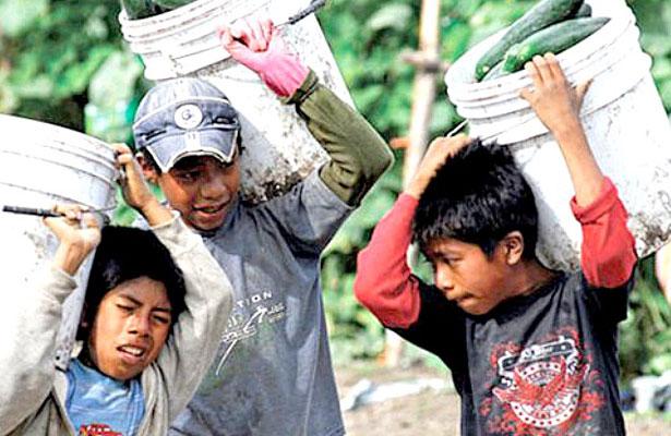 Aumenta población de niños trabajadores, advierten