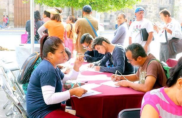 Hay 17 mil desempleados en el estado de Zacatecas