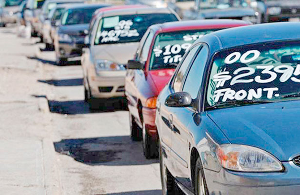 Pretenden legalizar 65 mil vehículos en Zacatecas