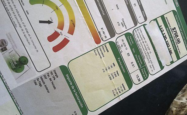 Molesta a riograndenses aumento a tarifas CFE