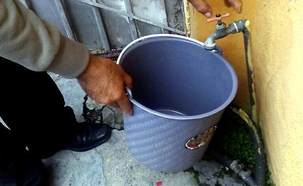 Se quedan sin agua 70 por ciento de los jerezanos