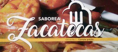 """Presentaron la revista """"Saborea Zacatecas"""""""