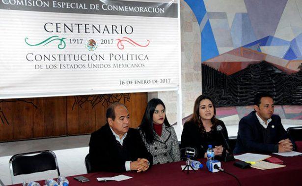 Conmemorarán el Centenario de la Constitución