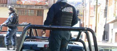 Movilización policíaca por detonaciones en Guadalupe