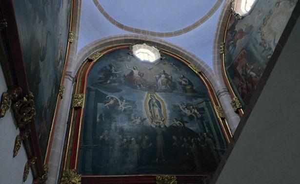 Un museo del marco en el Museo de Guadalupe