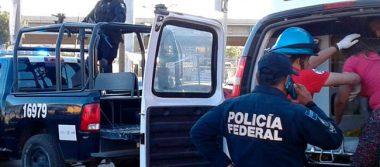 Rescatan a mujer en la capital zacatecana