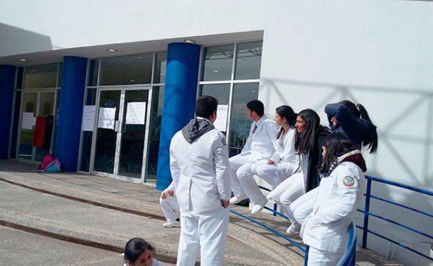 Paro estudiantil en Medicina UAZ de Fresnillo
