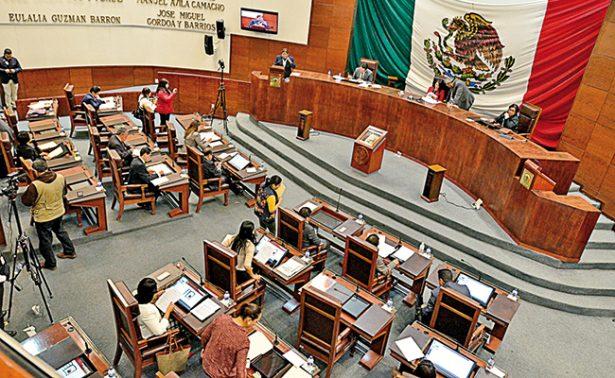 Sin la oposición, aprueban legisladores presupuesto para Zacatecas