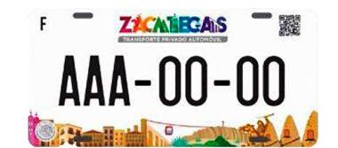 Inició ya el canje de placas en Zacatecas