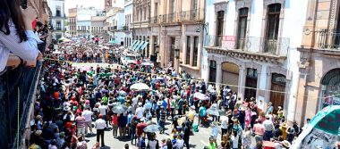 Zacatecas fue visitado por 35 mil turistas