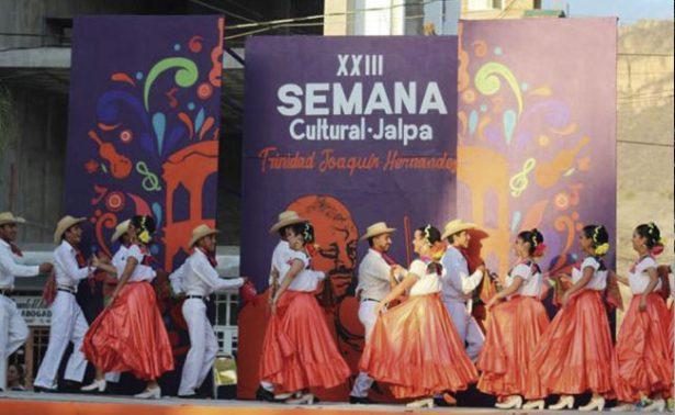 Semana Cultural cautiva a los jalpenses