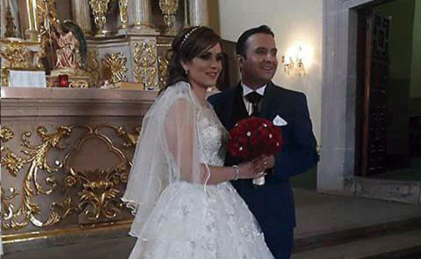 """Diana y Fernando se dieron el """"sí, acepto"""""""