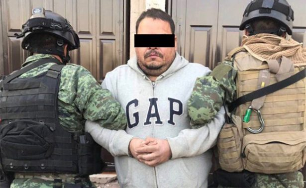 "Capturan en Zacatecas a ""La Hamburguesa""; líder de Cártel del Golfo"