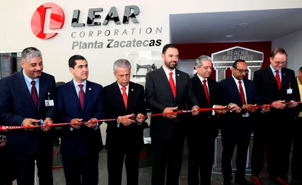 Inauguran empresa manufacturera en Calera, Zacatecas