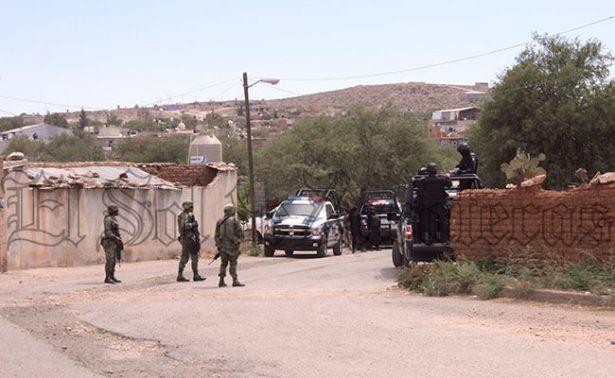 Persecución en Plateros deja dos detenidos