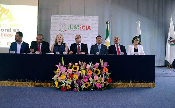 Realizaron en Zacatecas foro sobre Juicio Oral