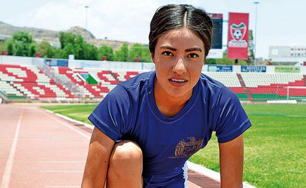 Ariadna Chávez, una atleta de las filas de la UAZ