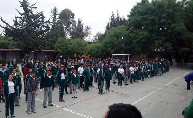 Realizan activación física en escuela fresnillense