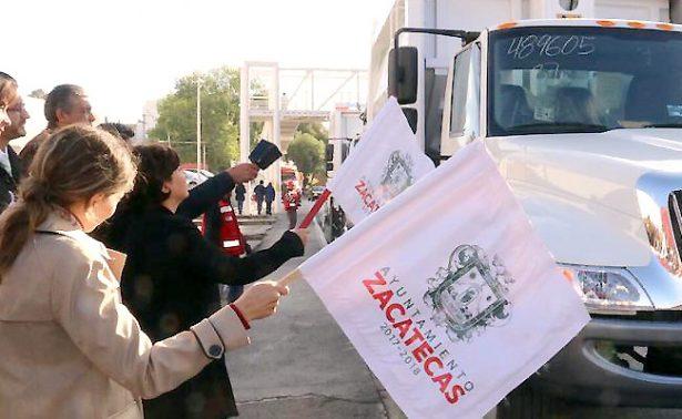 Se requieren 8.4 mdp para camiones recolectores en Zacatecas