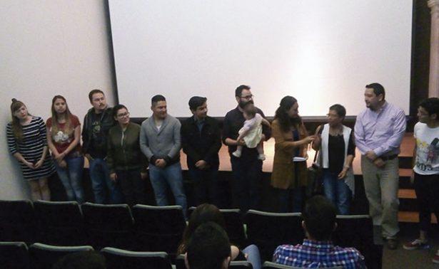 Otorgan premio al mejor cortometraje