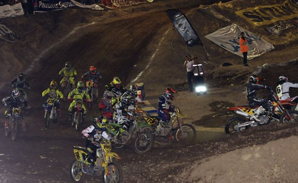 Insuperable la Copa de Motocross en Fresnillo