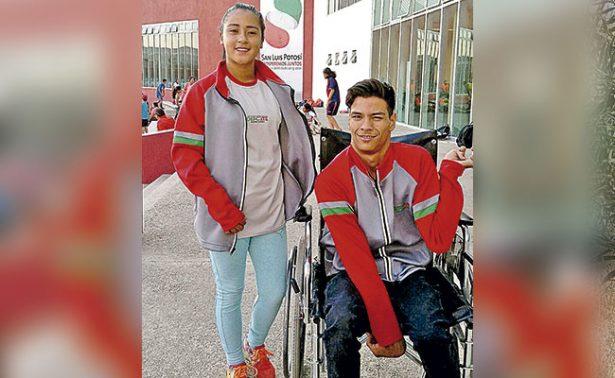 Kenia y Antonio con miras a Suiza 2017
