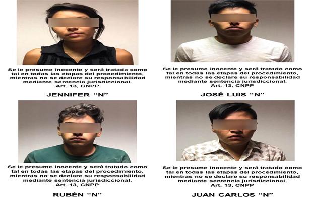 Detienen a banda de secuestradores, en Zacatecas