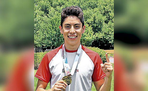 Medalla de oro en triatlón para Diego López