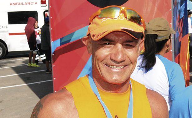 Mike Alvarado en octavo lugar del Ironman 70.3