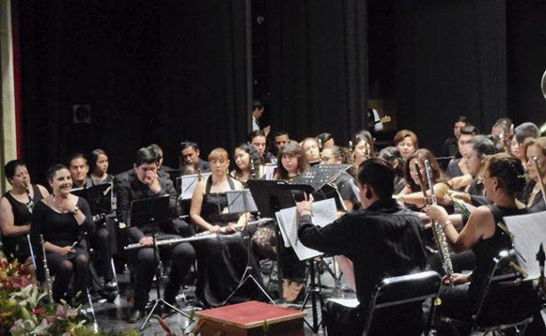 Celebran nueve años de la Banda Sinfónica Genaro Codina