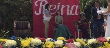 Fátima Lara es reina estudiantil de Jalpa
