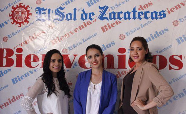 Las candidatas a reina de Calera visitaron nuestra redacción