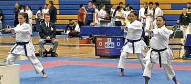 La UAZ triunfa en la Primera Copa de Karate
